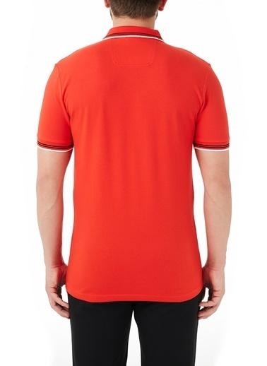 Hugo Boss  Pamuklu Slim Fit Polo T Shirt Erkek Polo 50412675 619 Kırmızı